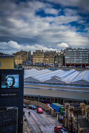 Cityscape Edinburgh