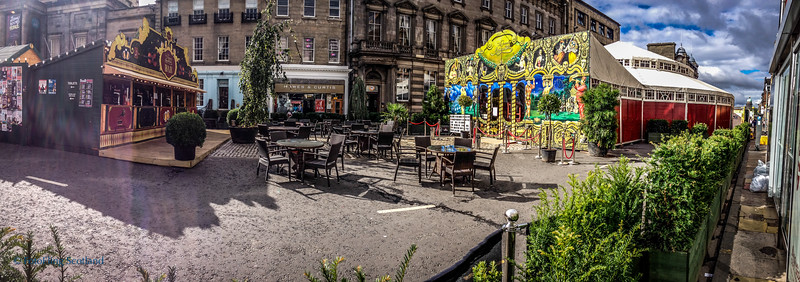 George Street, Edinburgh   Festival 2013