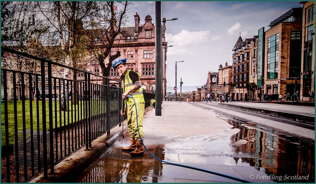 """""""Piss off, or I'll shove my hosepipe up yer ar….. !  """""""