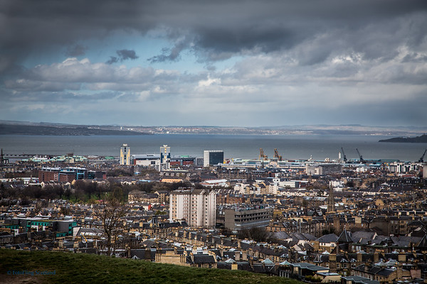 Firth of Forth from Carlton Hill