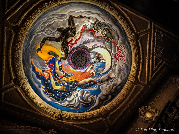 King's Theatre Ceiling (painted by John Byrne)