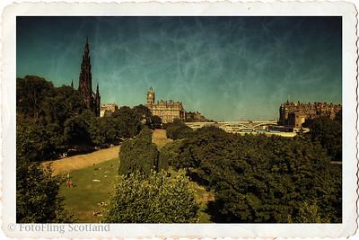 Postcard from Edinburgh
