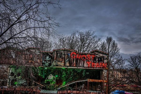 Ghost Train in Edinburgh