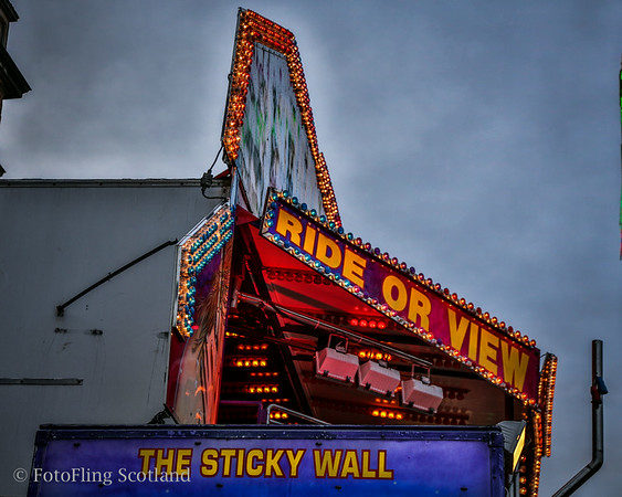 Ride or View: The Sticky Wall