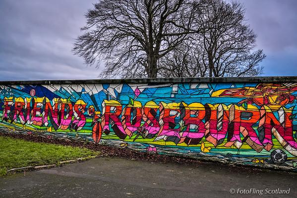 Street Art - Friends of Roseburn