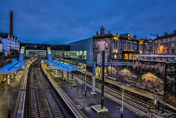Haymarket Station,  Edinburgh