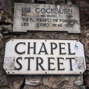 Wall plaque for Mrs Alison Cockburn