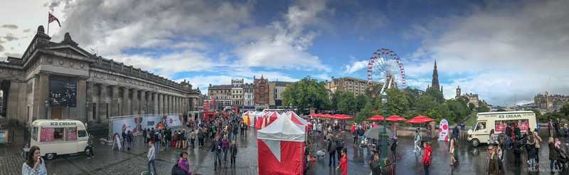 Festival Edinburgh Panorama