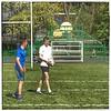 Rugby Practice in Inverleith Park, Edinburgh