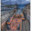 Waverley Station at Dusk