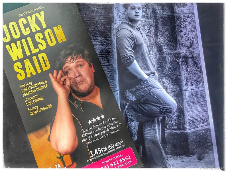"""Jocky Wilson Said"""