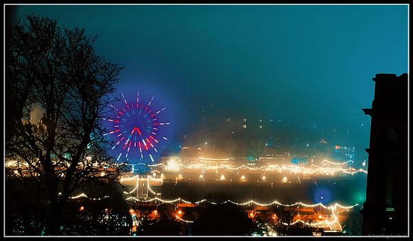 A Foggy Night in Edinburgh