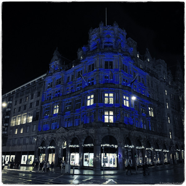 Jenners Department Store, Edinburgh
