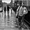A Wet Day in Edinburgh
