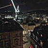 Floodlit Cranes & Backstreets of Edinburgh