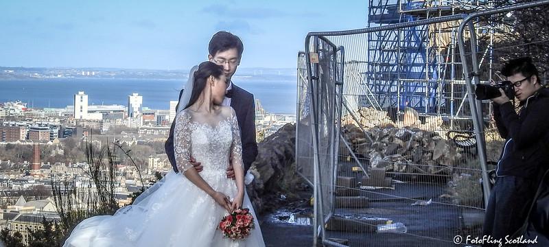 Bride & Groom Shooting