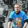The Blue Cyclist
