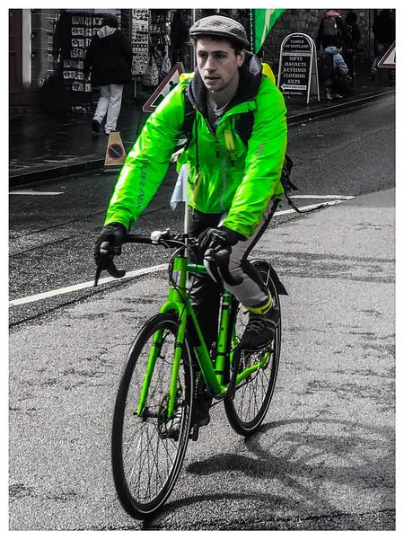 Hi-Viz Cyclist