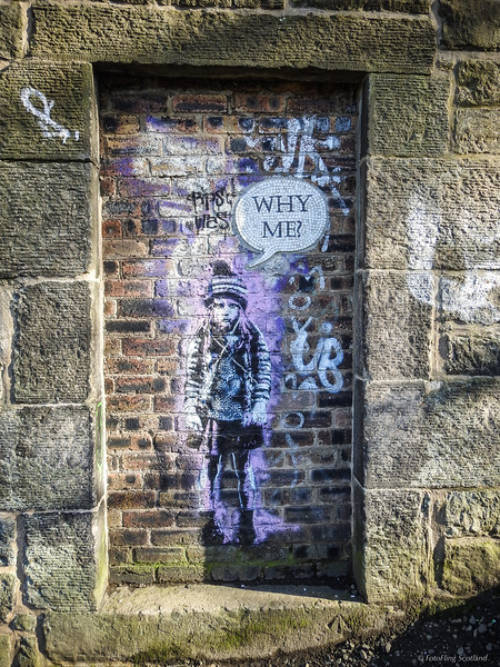 Street Art - Calton Hill