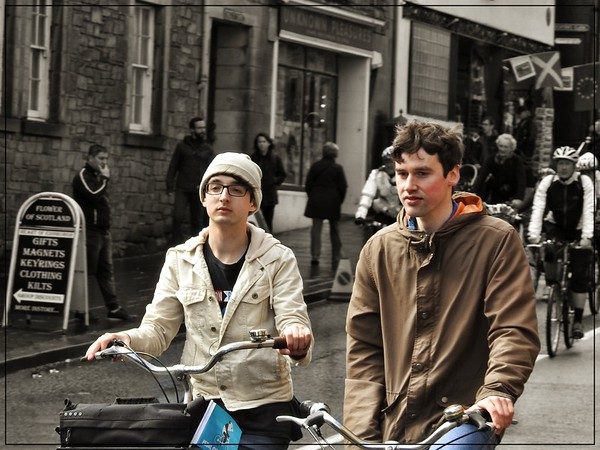 Cycling Twosome