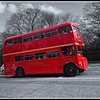 A London Bus in Edinburgh