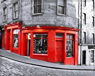 Kiltmakers - West Bow, Edinburgh