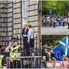 First Minister of Scotland greets Boris Johnston