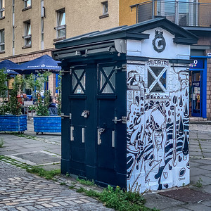 Police Box Change of Use