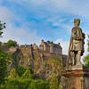 Allan Ramsay & Edinburgh Castle
