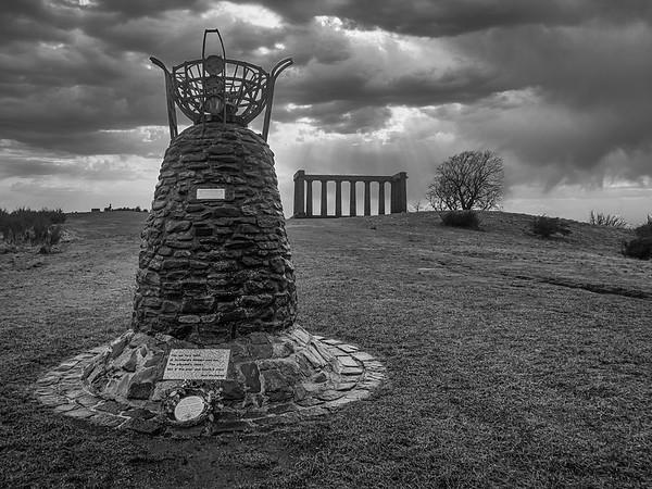 The Democracy Cairn - Calton Hill