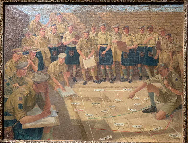 """""""The 51st Highland Division Plans El Alamein""""  by Ian Eadie"""