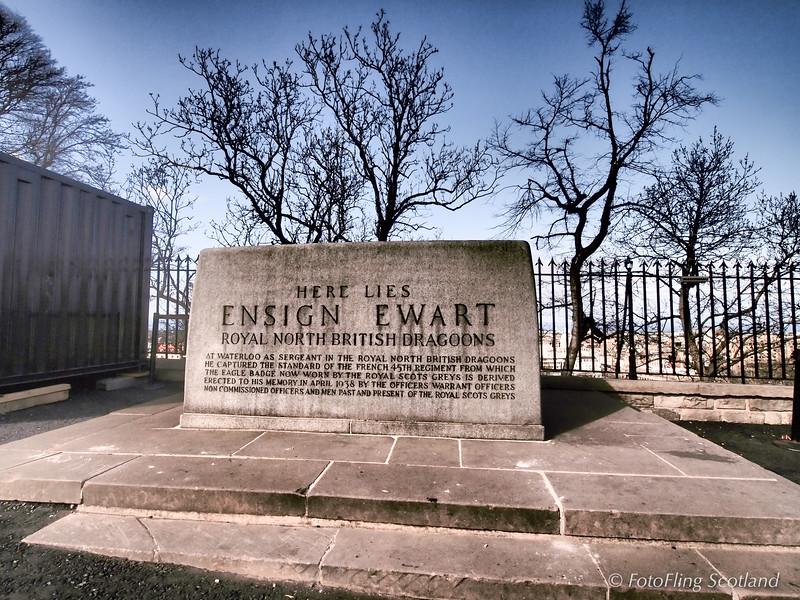 Here Lies Ensign Ewart - Edinburgh Castle