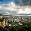 View From Edinburgh Castle looking west