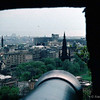 Princes Street from Edinburgh Castle