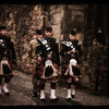 Kilties at Edinburgh Castle