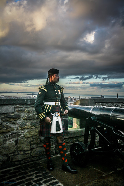 Edinburgh Military Tattoo Performer