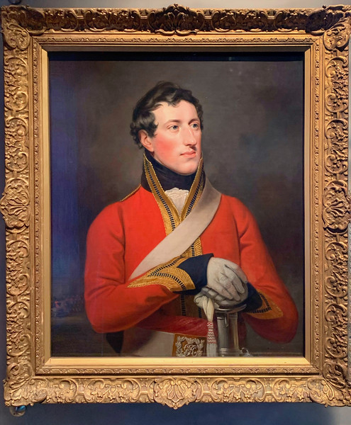 Captain Henry Gee Boulders Barnard - William Owens 1814