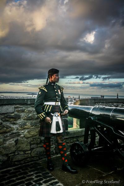 Edinburgh Military Tattoo Performer
