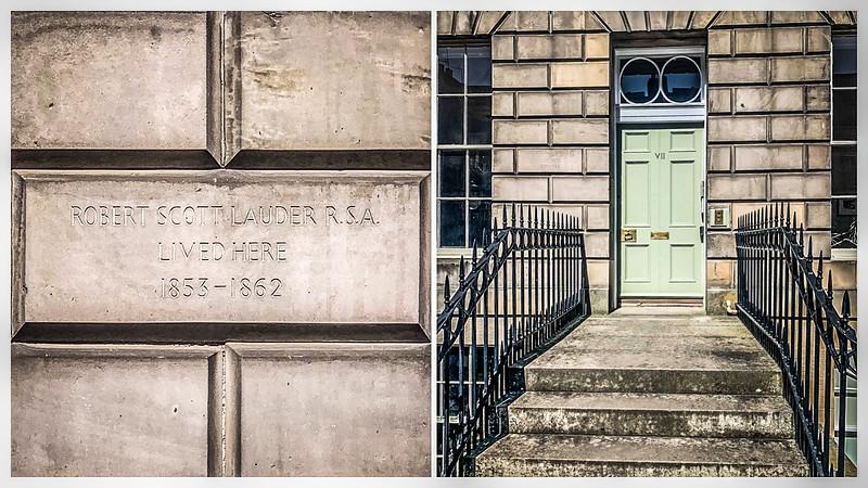 Plaque: 7 Carlton Street, Edinburgh
