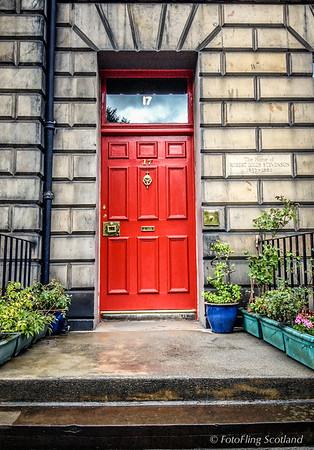 The Doorways of Edinburgh - Heriot Row