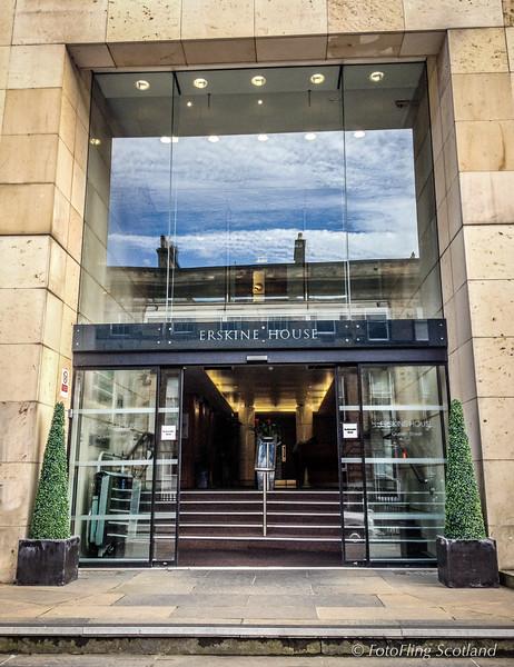 The Doorways of Edinburgh -Queen Street