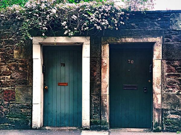 Doors in suburbia