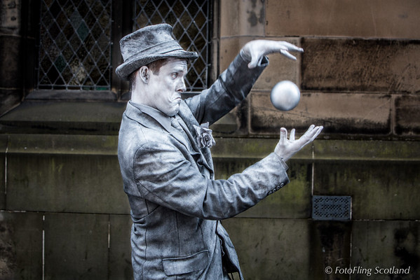 The Man With The Silver Ball