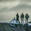 Three Men on a Roof