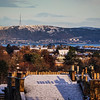 Edinburgh's First Winter Snow