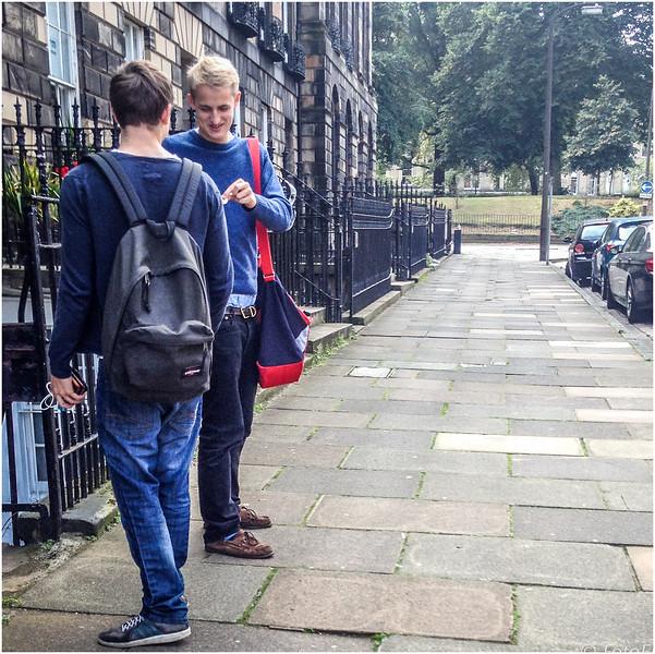 Sagging in Edinburgh's New Town
