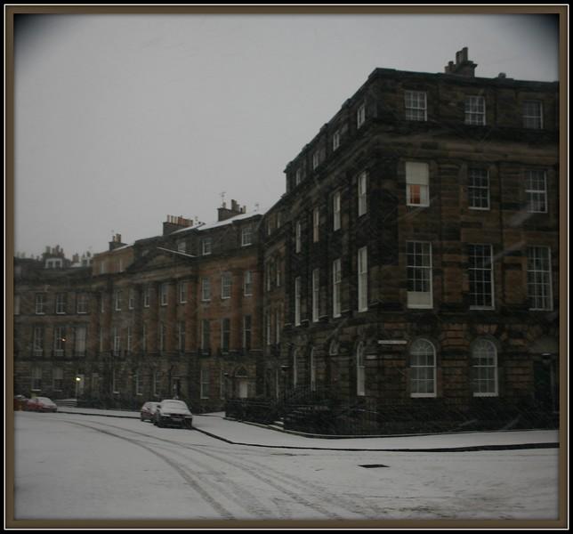 Winter in Moray Place, Edinburgh