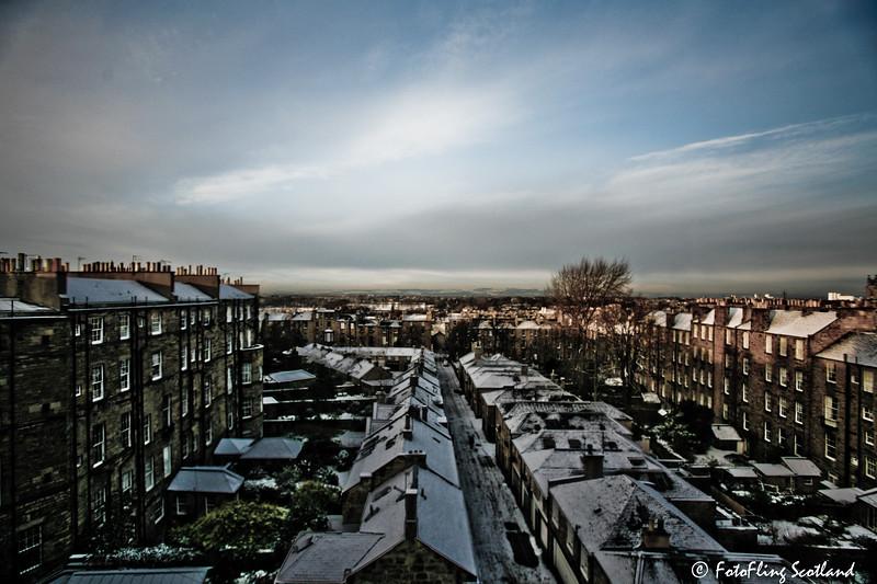 Edinburgh Winter Scene
