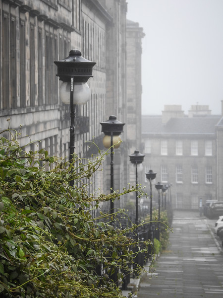 A Misty Morning on India Street