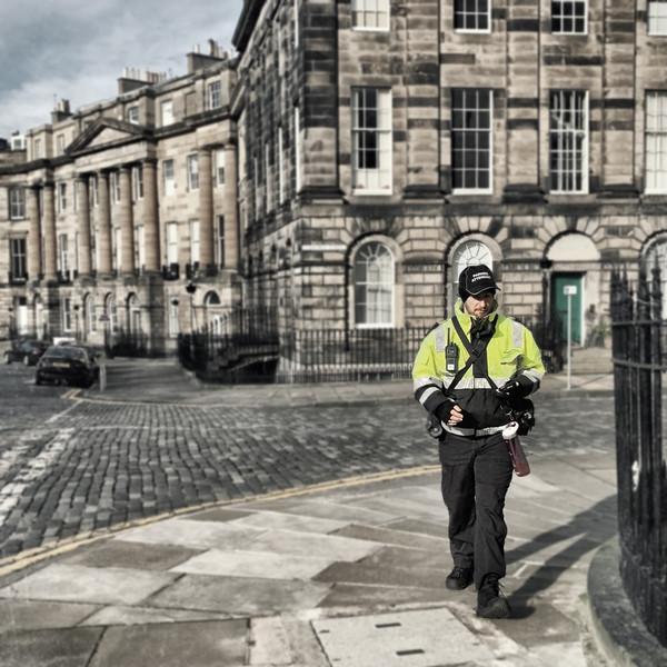 Men at Work: Parking Attendant